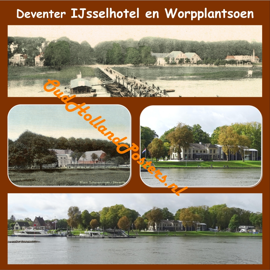 Deventer Worp IJsselhotel past and present O 188 br