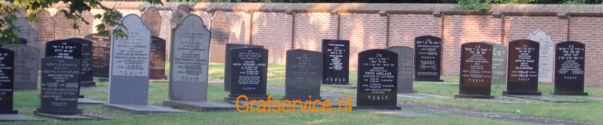 Old Jewish Graveyard Deventer Holland gs