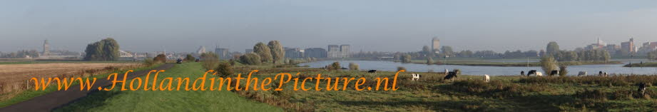Deventer panorama met pinken