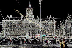 Amsterdam Palace special art poster