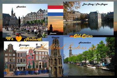 Holland old cities / Nederland oude steden